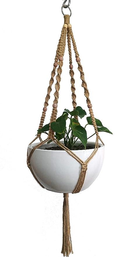 Suspension Pour Plante En Macrame Pour Pot De Fleur De 25 4 Cm 4