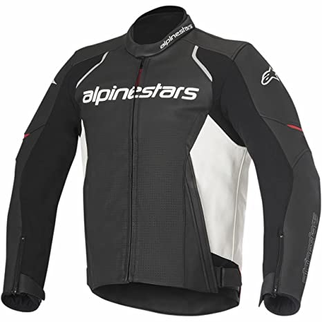 Alpinestars Devon Airflow Mens Street Jackets - Black/White / 46