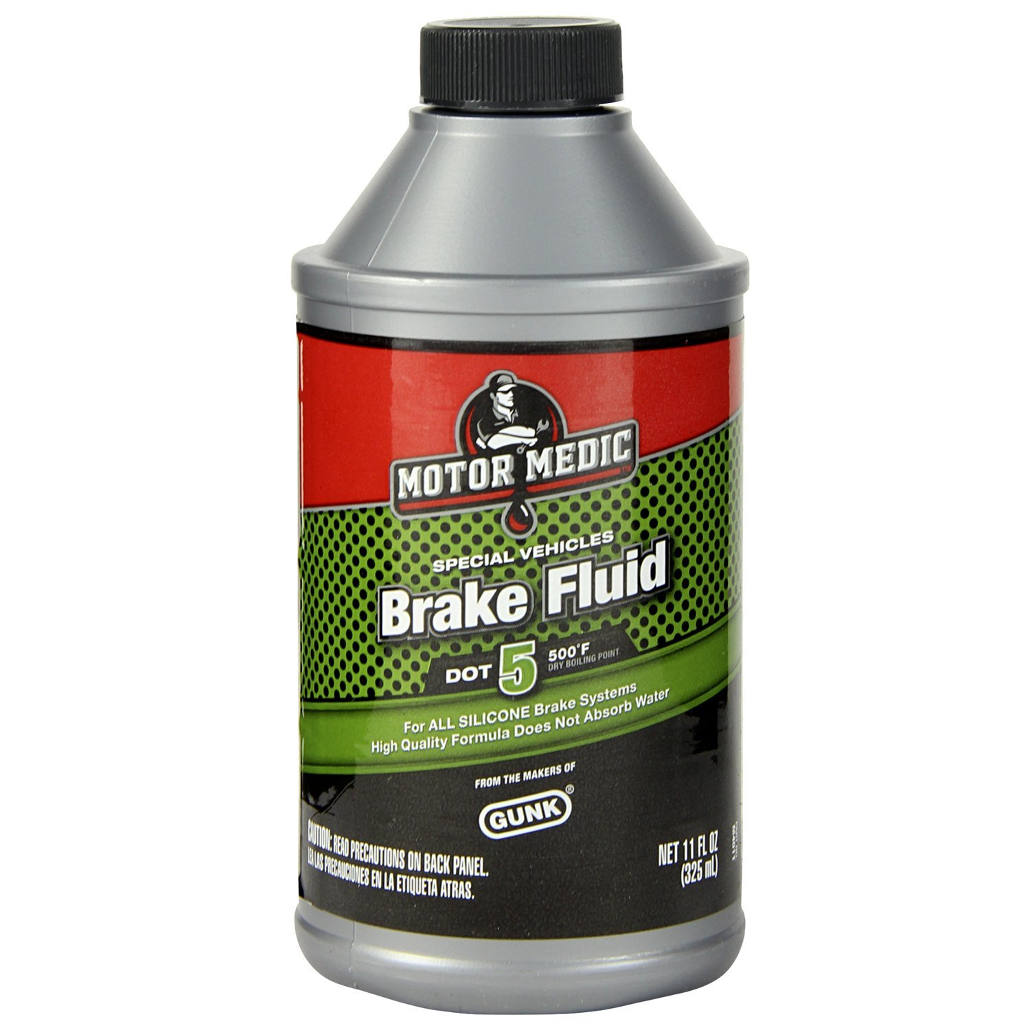 Motor Medic M4011/12-12PK DOT 5 Brake Fluid - 11 oz., (Case of 12) by MotorMedic