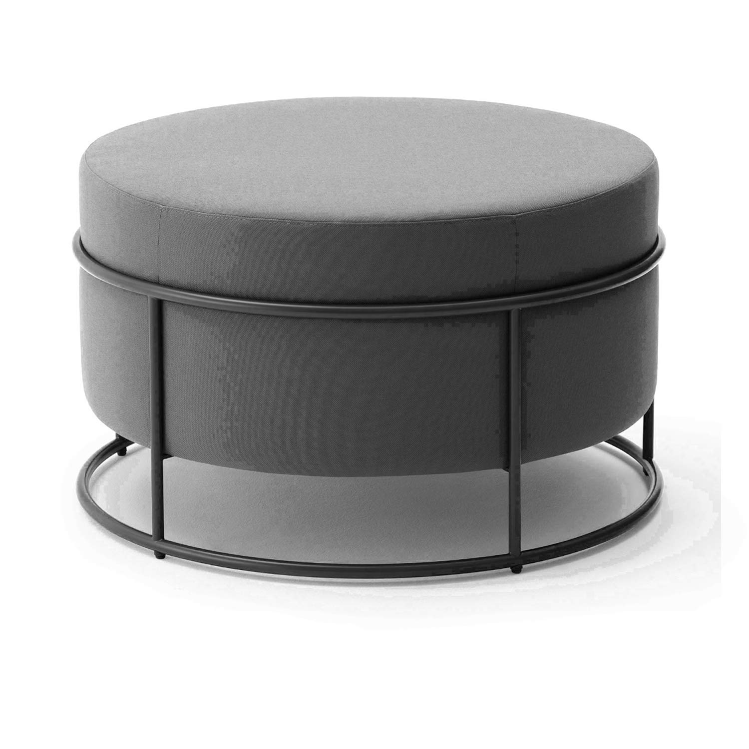 H 47x79cm(19x31inch) Footstool,Modern Simple Round Fabric Small Stool,Sofa Stool Makeup Stool shoes Bench Home Stool-b 47x36cm(19x14inch)