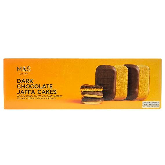 Marks Spencer Dark Chocolate Jaffa Cakes 125g