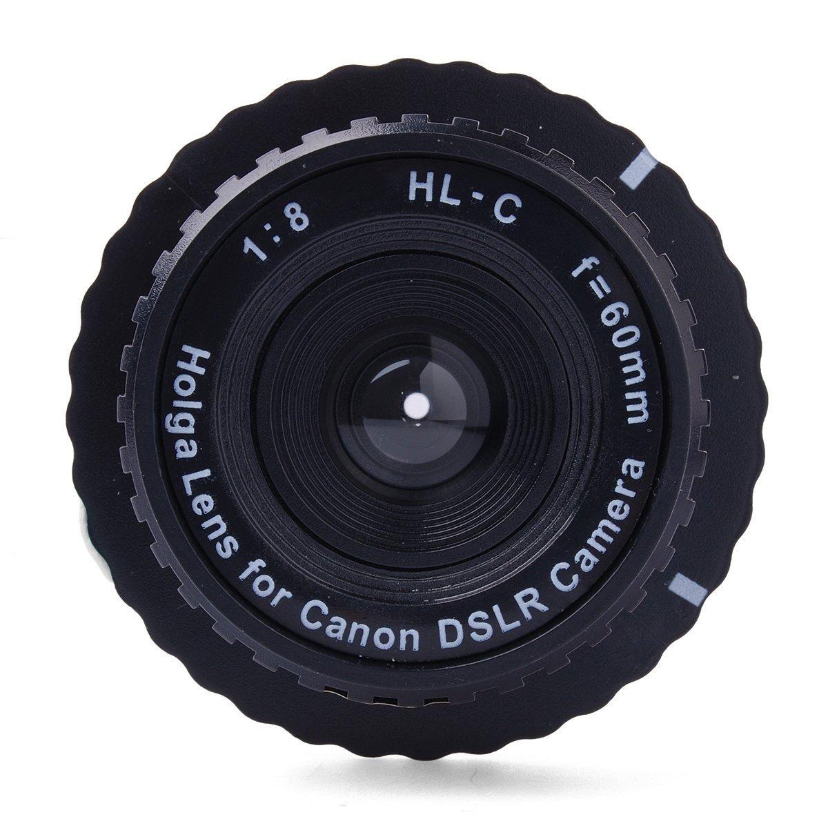 HOLGA(ホルガ) HL-C レンズ 60mm f/8  キヤノンデジタル一眼レフ用 DC519   B00QKBT8CE