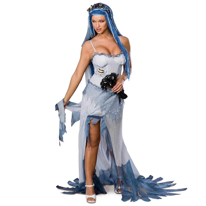 Amazon.com: Disfraz de novia cadáver – X-Small – Tamaño ...