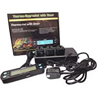 Reptile Vivarium Professional Digital Day / Night Thermostat + with Timer