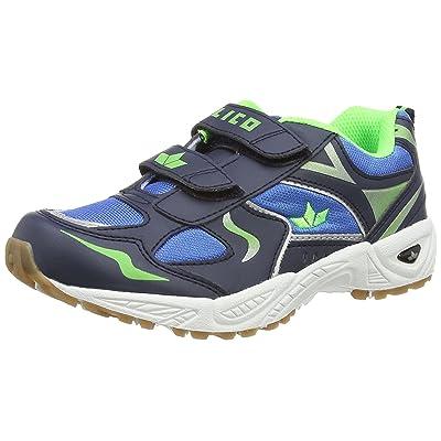 Lico , Chaussures spécial sports en salle pour garçon bleu blau/marine/lemon