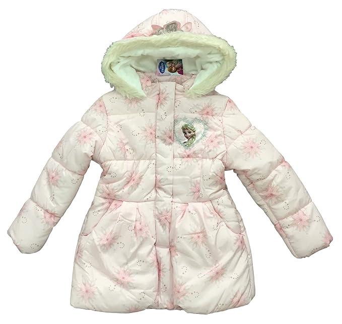 Disney Frozen - Abrigo - abrigo - para niña rosa rosa 10-11 Años: Amazon.es: Ropa y accesorios