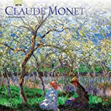 Claude Monet 2019 12 x 12 Inch Monthly Square Wall Calendar, Impressionist Impressionism Art Artist (Multilingual Edition)
