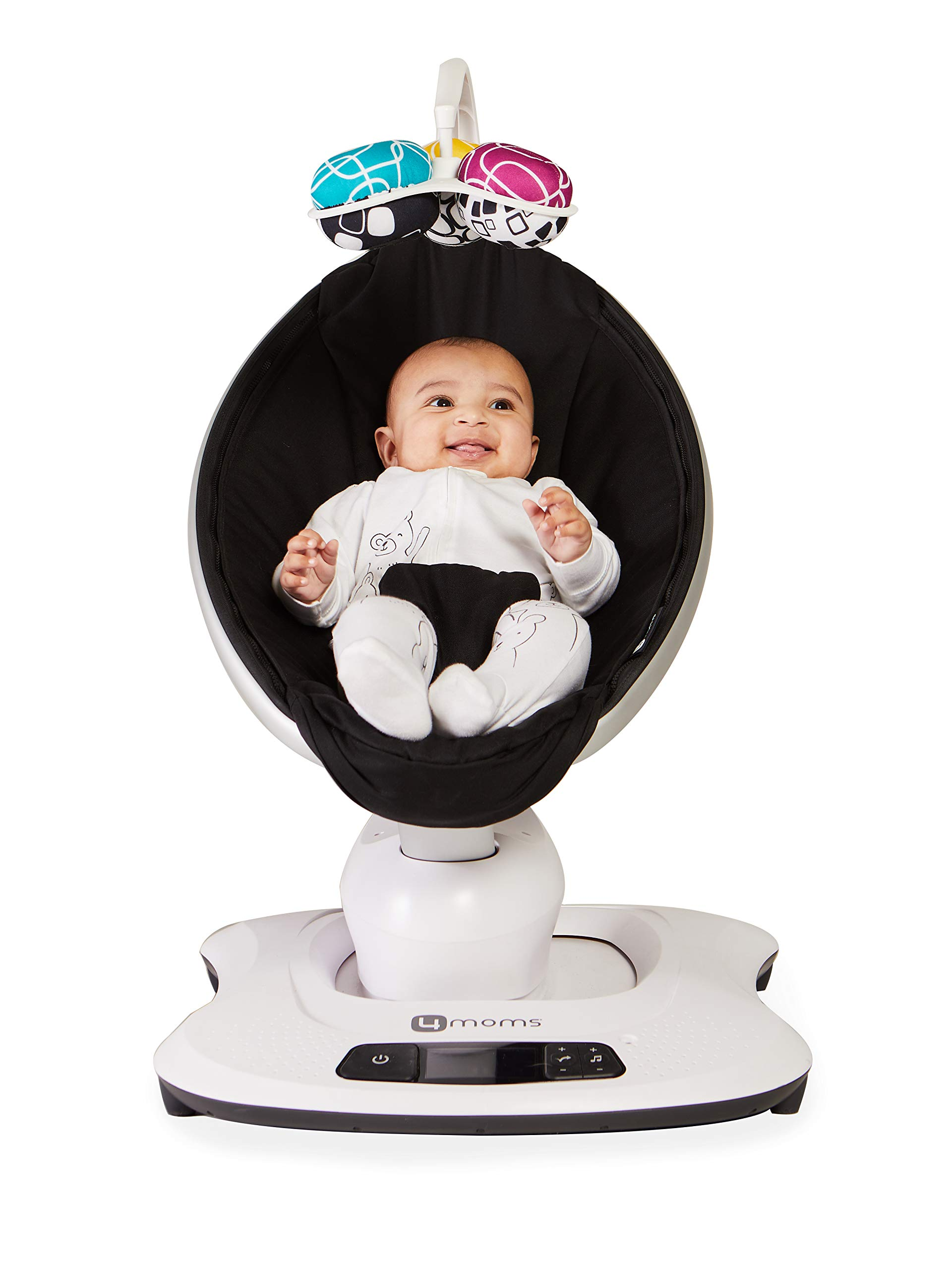 4moms mamaRoo 4 Bluetooth-Enabled high-tech Baby Swing – Classic Nylon Fabric with 5 Unique motions by 4moms (Image #8)