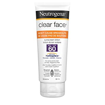 neutrogena clear face sunblock