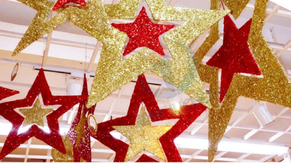509 Navidad 2 lazo rojo artificial Corona De Navidad Artesanales Regalo Decoración Santa