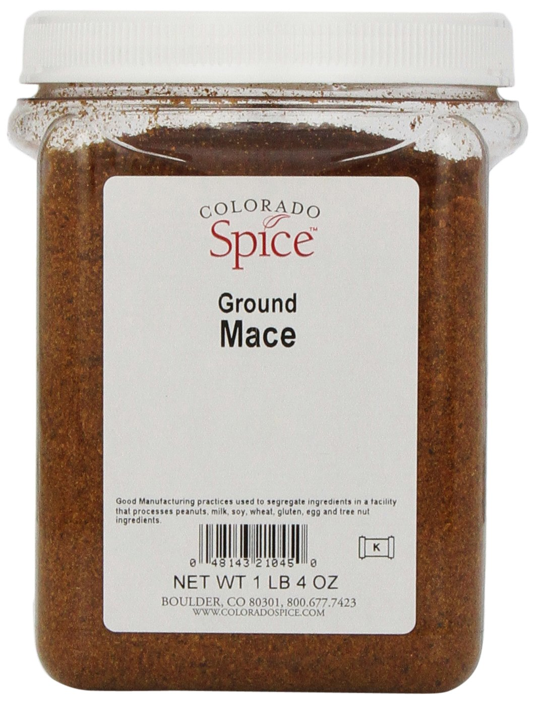 Colorado Spice Mace, Ground, 20 Ounce Jar