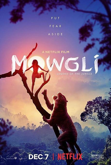Lionbeen Mowgli Movie Poster Cartel de la Pelicula 70 X 45 ...
