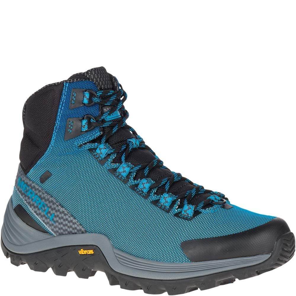 bleu Merrell Thermo Cross Cross Mid WP Walking chaussures  pas de taxes