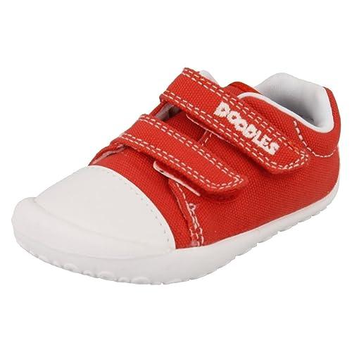 ClarksLittle Chap - Mocasines para Bebés que Gatean para niño , color rojo, talla 36,5 EU: Amazon.es: Zapatos y complementos