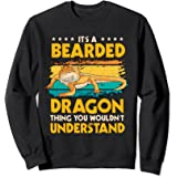 Reptile Quote It's A Bearded Dragon Thing Bearded Dragons Sweatshirt