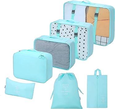 Organizador para Maletas Packing Cubes 7 Juegos de organizadores ...