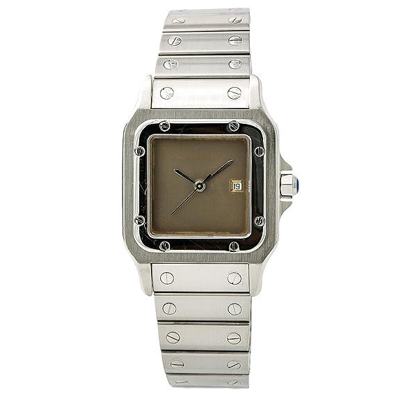 Cartier Santos galbee Automatic-Self-Wind Mens Reloj 237299 (Certificado) de Segunda Mano: Cartier: Amazon.es: Relojes