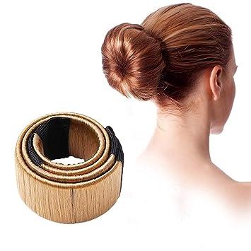 2xdamen Dutt Hilfe Haar Styling Frisurenhilfe Haarschmuck Haar Clip Mädchen Hair Styling Tool Donut Hair Bun Maker French Twist Haar Brötchen Styling