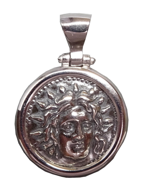 Pendentif Bijou Grec Rond Apollon Argent 925 AP02 Envie Bijoux