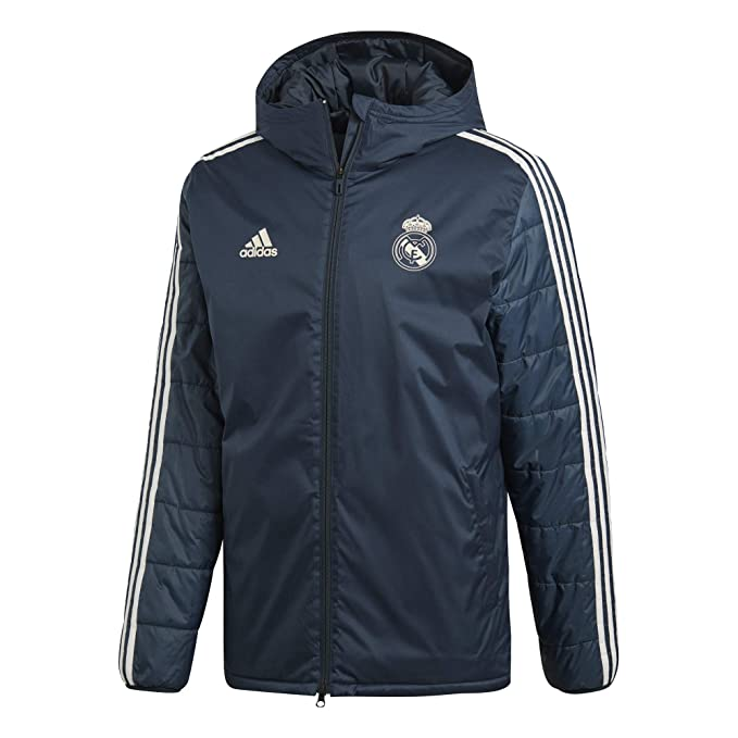 adidas Real Madrid Winter Jacket Chaqueta, Hombre, Tech Onix ...