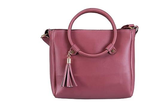 d61de5f21c5 Aizah s Latest SLING SIDE BAG for women (MAUVE)  Amazon.in  Shoes   Handbags