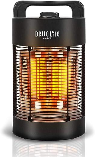 Bellelife Infrarot Heizstrahler für Aussenbereich, Infrarot Standheizstrahler, Spritzwassergeschützt IPX4, Terrassenstrahler oszillierend,700W 360°…