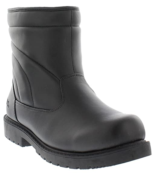 Totes Mens Commuter Winter Weather Rain & Snow Boots, Black, 10 M US