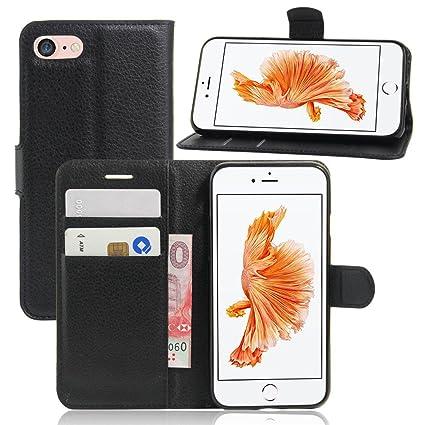 Amazon.com: IVY - Funda para iPhone 8 (piel sintética, para ...