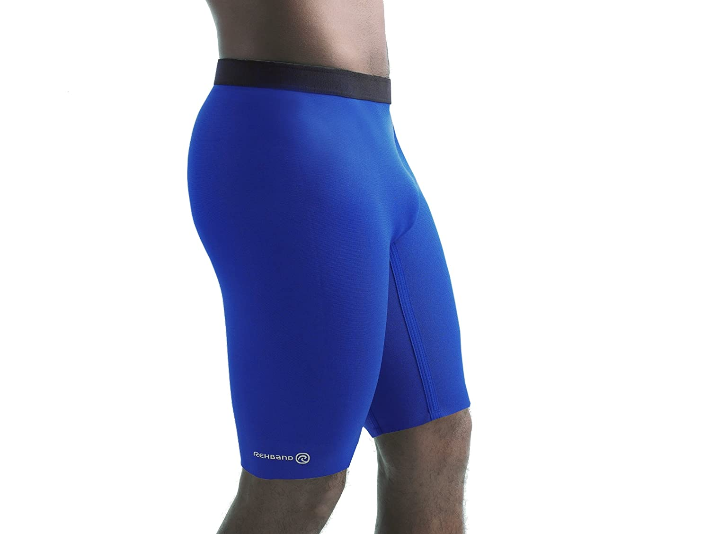 318136aad3 Rehband Basic Men's Sports Compression Shorts - Warm, Dry & Soft Athletic  Shorts - SBR