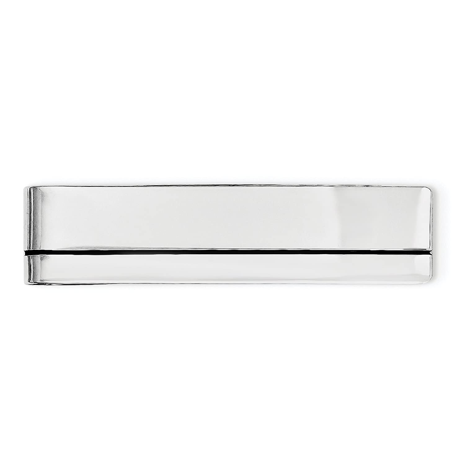 925 Sterling Silver Enameled Money Clip