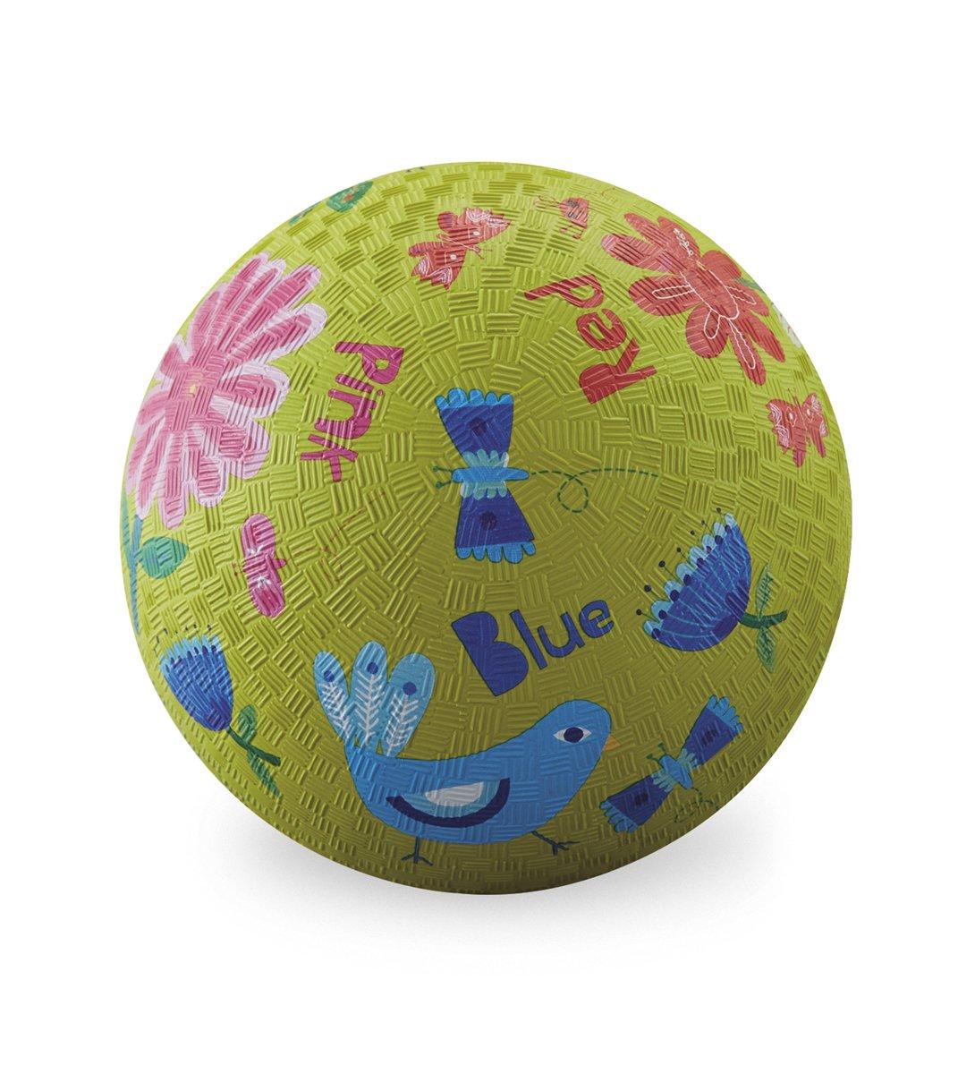 Crocodile Creek Jardin Couleurs Playground Ball, Citron Vert, 17,8cm 8cm 2157-4