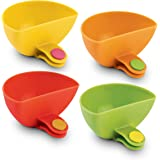 Dip It! Condiment & Sauce Dipping Bowls with Plate Clips Ð Set of 4
