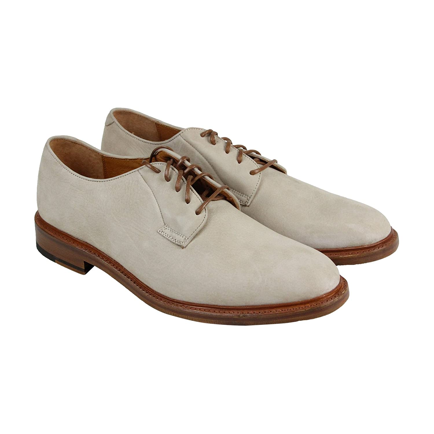 Taupe Soft Italian Nubuck FRYE Men& 039;s Jones Oxford