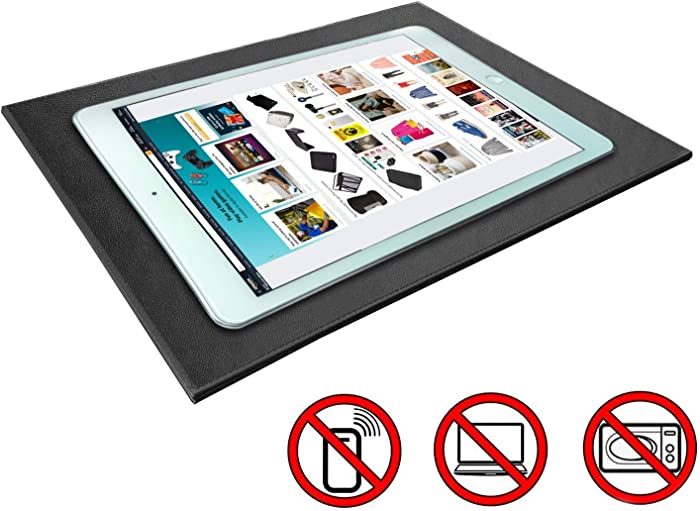 EMF Radiation Protection Pad for Ipad/Cell Phones EMF Radiation Protect & Heat Shield - Anti Radiation Laptop Computer Pad & EMF Blocker Lap/pad Lapdesk 7.8'' 12''