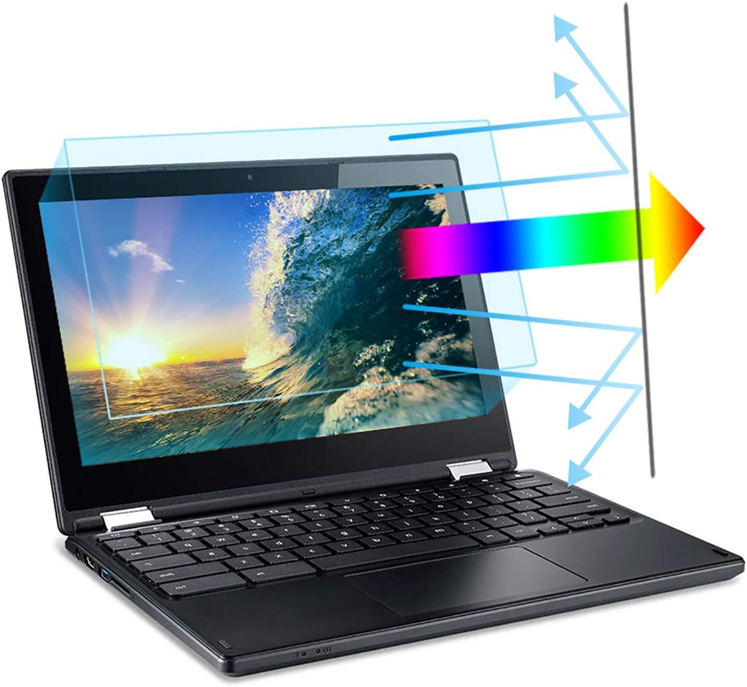 """11.6"""" Laptop Screen Protector 2 Pack. Blue Light Blocking & Anti Glare Filter Film Eye Protection Anti Blue Light Screen Protector for 11.6 Inch with 16:9 Aspect Ratio Laptop"""