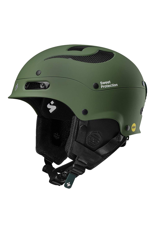 ML Olive Drab Sweet Protection Unisex adulto Trooper II MIPS Helmet Ski//Snowboard