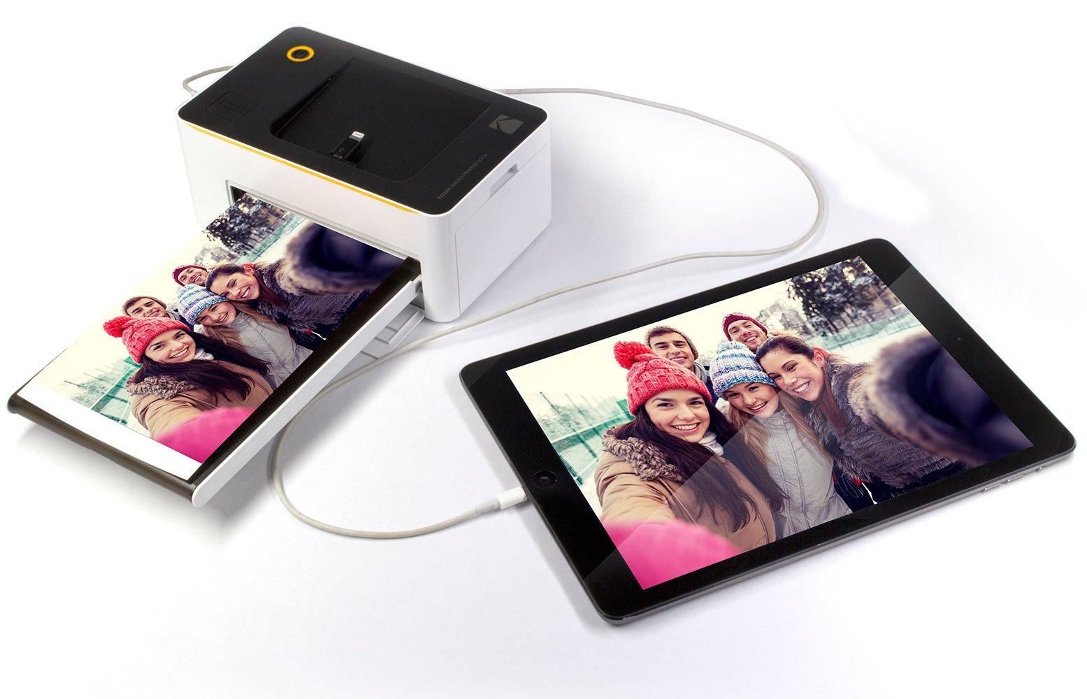 Kodak Dock & Wi-Fi 4x6'' Photo Printer with Advanced Patent Dye Sublimation Printing Technology & Photo Preservation Overcoat Layer - Compatible with Android & iOS by Kodak (Image #5)