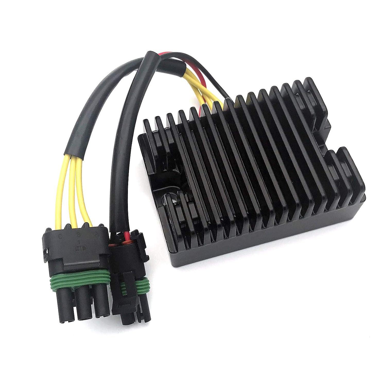 CBK New Voltage Regulator Rectifier For Sea-Doo GTX RFI GSX RFI GTI LE GTX RX LRV DI XP DI 2000 2001 2002 2003/Bombardier ATV DS650 2000 2001 2002 653cc 278001241 278001554