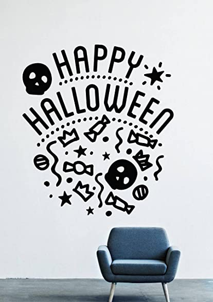 Halloween Wall Decals Decor Vinyl Stickers LM2626