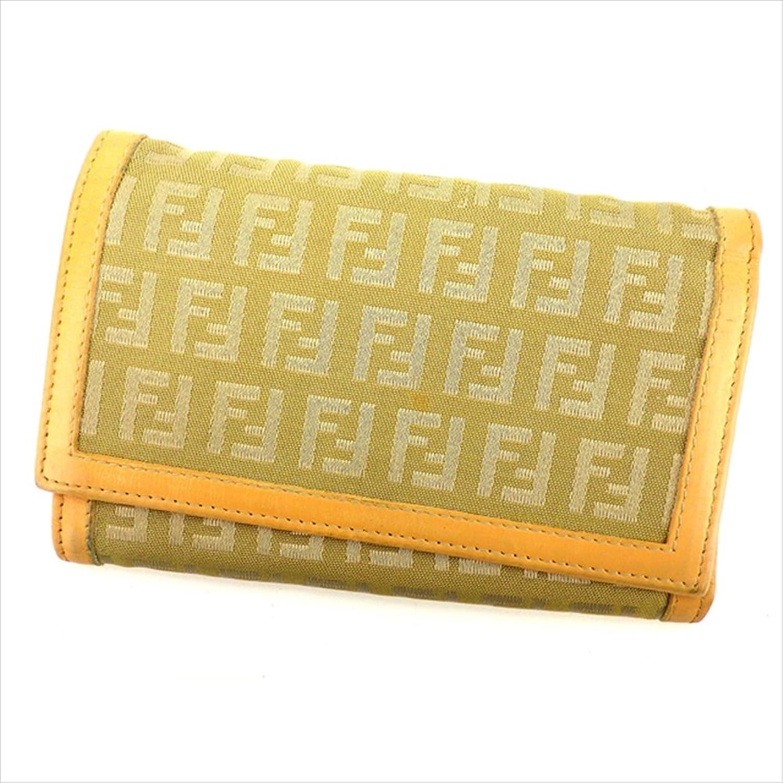 [フェンディ] FENDI 三つ折り財布 男女兼用 ズッキーノ 中古 G985 B01LWXB167