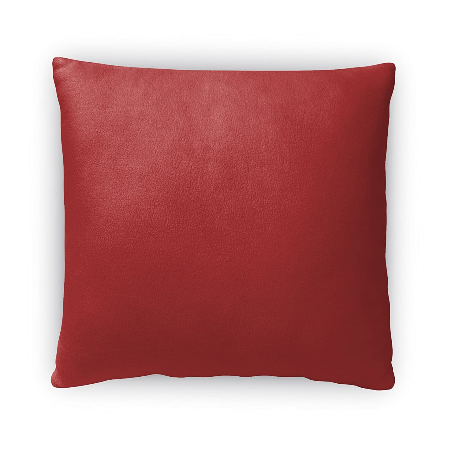 - Red TELAVC8076FBS16 Size: 16X16X4 - KAVKA Designs Fall In Love Red Fleece Throw Pillow,