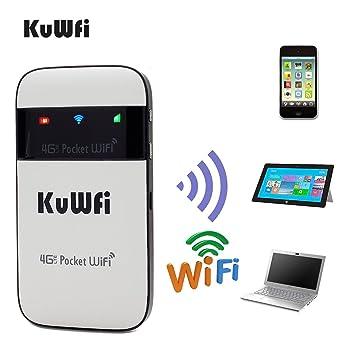 KuWFi Mini LTE Mobile Wireless Hotspot 3G 4G WiFi Router