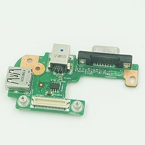 New for DELL INSPIRON 15r N5110 AC DC Power Jack Port VGA USB IO Board - PFYC8
