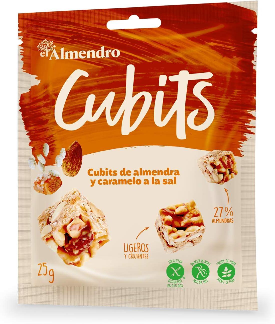 El Almendro - Cubits de Almendra y Caramelo a la Sal - 4x25 gr ...