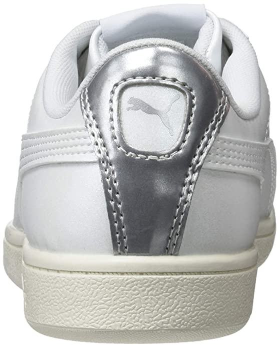 Amazon.com | Puma Womens Vikky LX Low-Top Sneakers, Whisper White, 7.5 UK | Fashion Sneakers