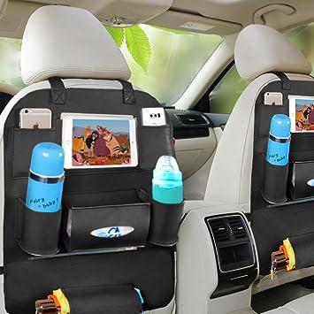 Amazon Car Seat Organizer Gooldee Leather Car Backseat