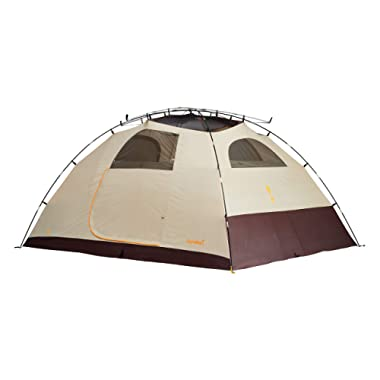 Eureka Sunrise Waterproof Camping Tent -Java/Cement/Orange, Cement/Java/Orange