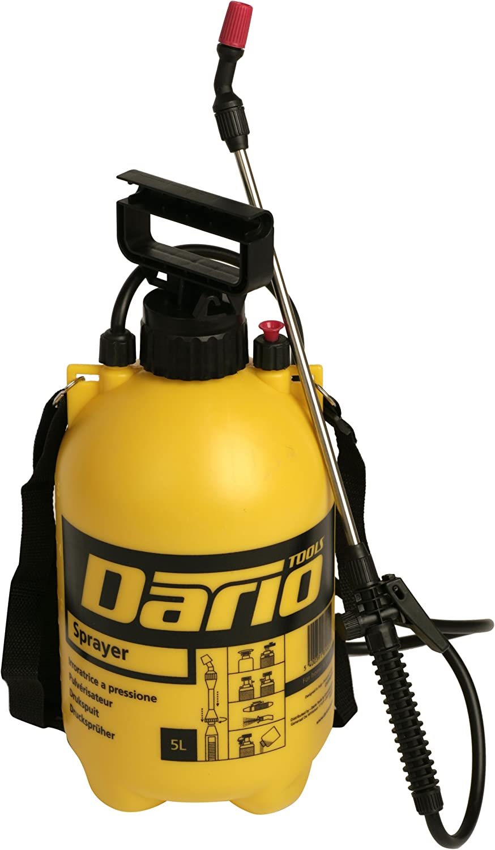 Dario Tools CMB382050 - Pulverizador a presión (5,0 l), color amarillo