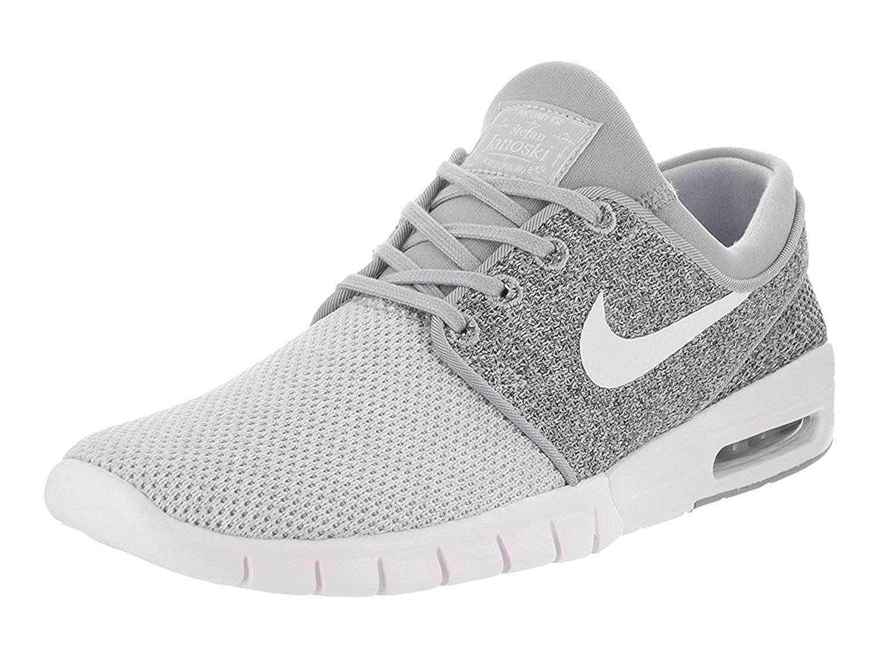 Nike Stefan Janoski Max Mens Sneakers, Wolf Grey/White/Dark ...