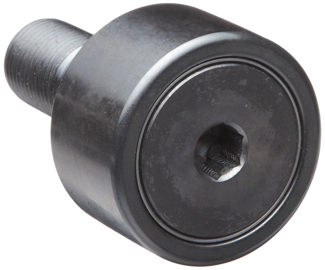 Stud Type 58mm Overall Length 40mm Roller Diameter Metric Standard Unsealed 18mm Stud Diameter 20mm Roller Width INA NUKR40 Cam Follower Steel 36.5mm Stud Length